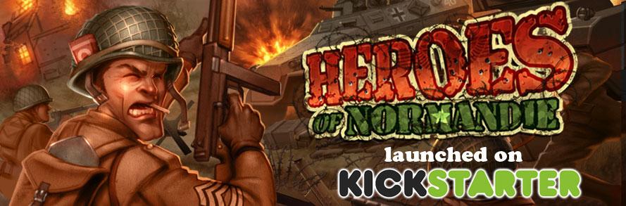 heroes of normandie-kickstater